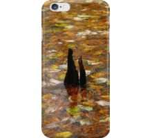Leaves In The Water iPhone Case/Skin
