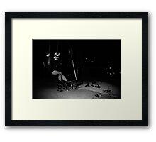 Wings & Swings Framed Print