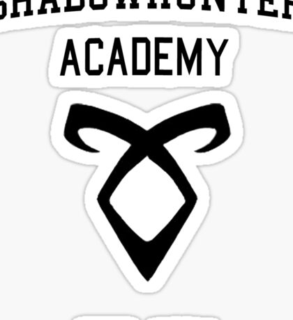 Welcome to Shadowhunter Academy Sticker