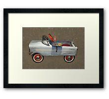 Tee Bird Pedal Car Framed Print