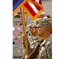 Color Guard Photographic Print