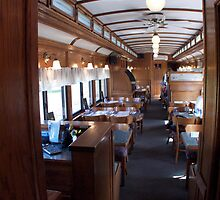 """Enter The Diner Coach"" - Conway Scenic RR Series © 2009 SEP by Jack McCabe"