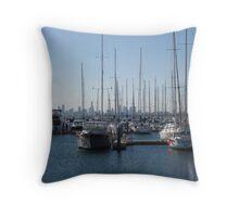 Middle Brighton Pier Throw Pillow