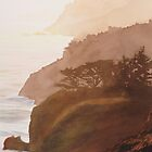 &quot;Sunset Big Sur&quot; Watercolor by Paul Jackson