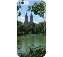 NYC Central Park Lake iPhone Case/Skin