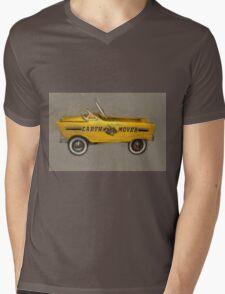 Earth Mover Pedal Car Mens V-Neck T-Shirt