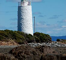 She Oak Point Lighthouse, Tamar River Tasmania by patapping