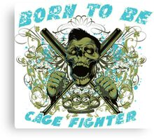 Cage Fighter Canvas Print