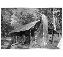Upper Jamieson Hut, N.E. Victoria, Austalia Poster