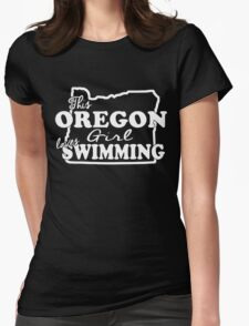 THIS OREGON LOVES GIRL SWIMMING T-Shirt