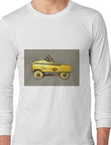 Taxi Cab Pedal Car Long Sleeve T-Shirt