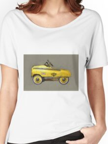 Taxi Cab Pedal Car Women's Relaxed Fit T-Shirt