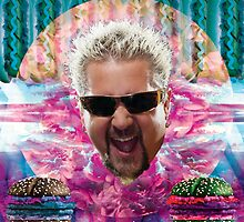 Guy Fieri's tropical BBQ blast by STORMYMADE