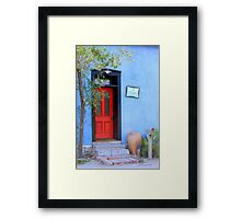 Bluesy Framed Print
