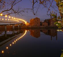 Columbus GA River Walk by Scott Chambless