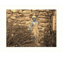 Fall Garden Galatea Art Print