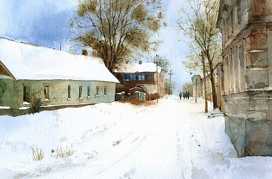 Winter in Nikopol by Sergei Kurbatov
