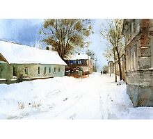 Winter in Nikopol Photographic Print