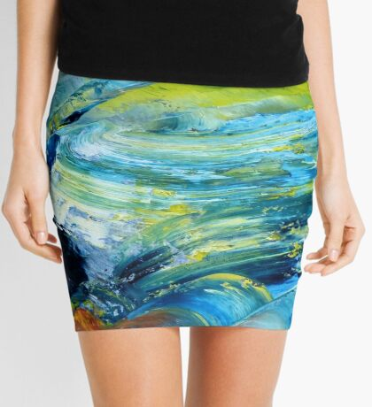 Storm Cell by William Solis Mini Skirt