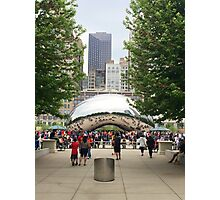 Cloud Gate in Chicago Photographic Print