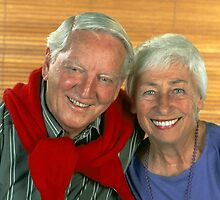 Older couple very much in love by Brian McInerney