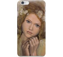 "The touch of an angel (""Angels"" series) iPhone Case/Skin"