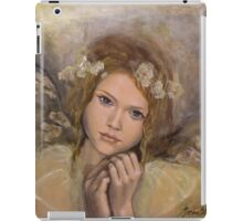"The touch of an angel (""Angels"" series) iPad Case/Skin"