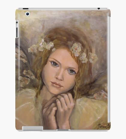 """The touch of an angel (""""Angels"""" series) iPad Case/Skin"""
