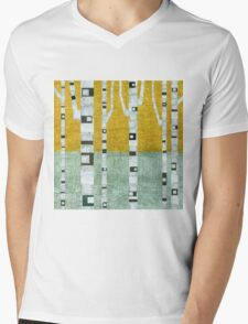 Early Winter Birches Mens V-Neck T-Shirt