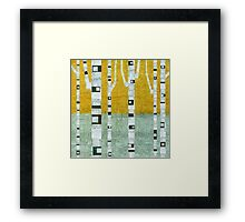 Early Winter Birches Framed Print