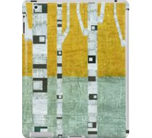 Early Winter Birches iPad Case/Skin
