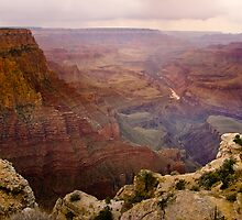 Grand Canyon South Rim by Bo Insogna