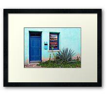 Su Casa Framed Print
