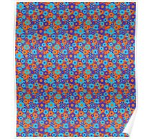 Flower Pattern Mixed Poster