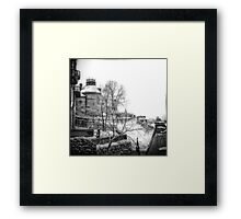 Winter in Stockholm Framed Print