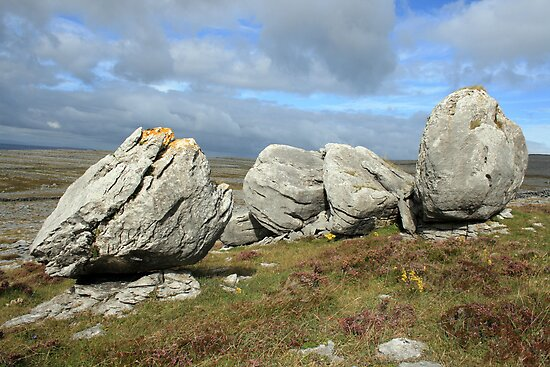 Burren Rocks by John Quinn
