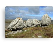 Burren Rocks Canvas Print