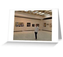 """The Opening at """"Ethereal"""" - 11th personal exhibition  Greeting Card"""