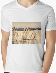 Dune Grass Mens V-Neck T-Shirt