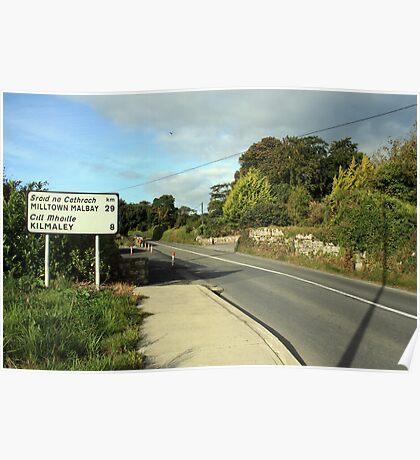 Kilmaley road Poster