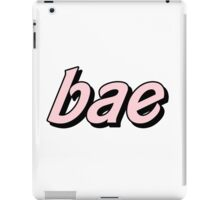 bae iPad Case/Skin