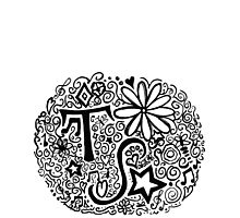 Taylor Swift Doodle Photographic Print