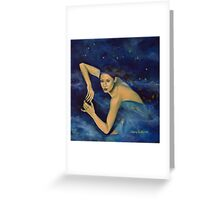 """Scorpio"" - ...from ""Zodiac signs"" series Greeting Card"