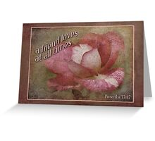 friendship card Greeting Card