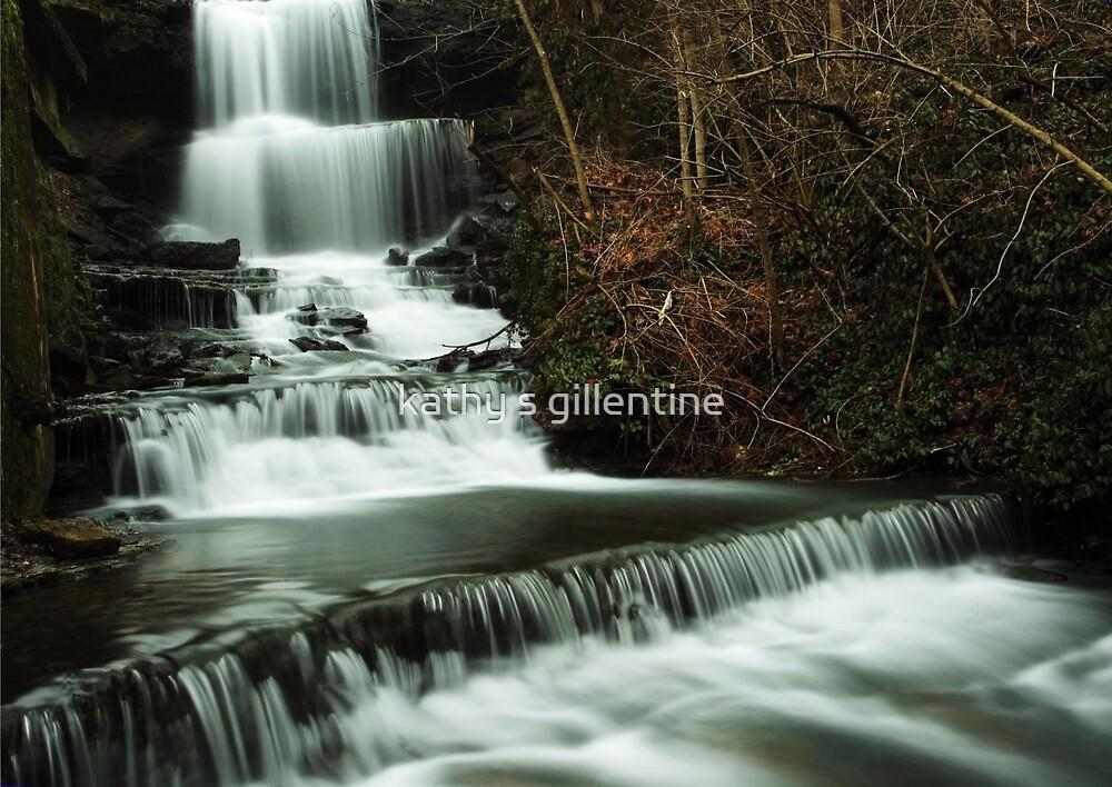 West Milton Cascades by kathy s gillentine
