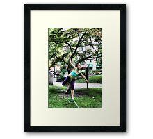 Tight Rope Walker Framed Print