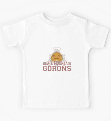 Death Mountain Gorons Kids Tee