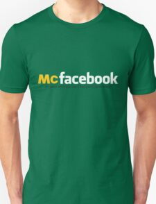 McFacebook Unisex T-Shirt