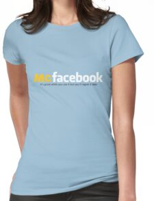McFacebook Womens Fitted T-Shirt