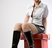 Beautiful girl by kontrastreich